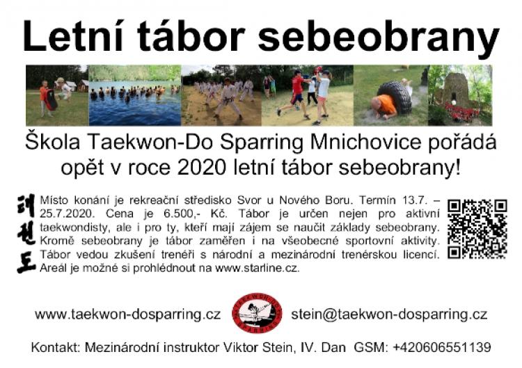 Tábor sebeobrany 2020 školy Sparring
